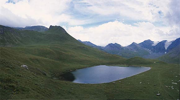 Lac du Clou, two hours walk from chalet